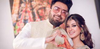 wedding-actor-yasir-hussain-iqra-aziz-saraikinews-com