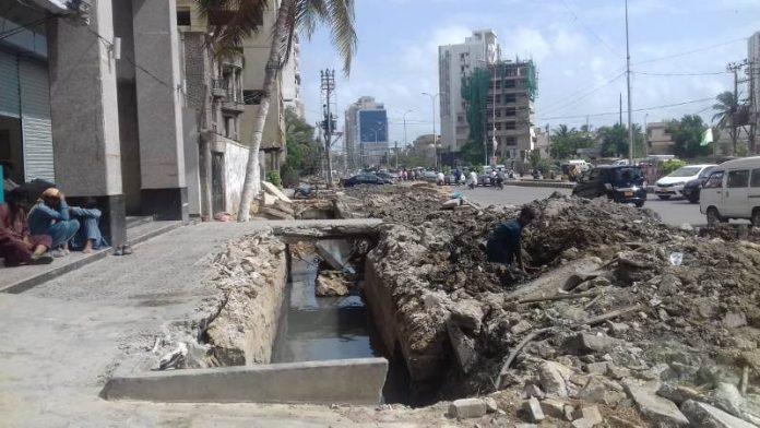 کراچی نالے کی صفائی