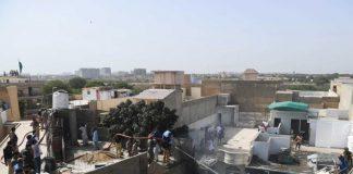 کراچی اچ پی آئی اے طیارہ حادثے دا ملبہ ہٹاونڑ دا کم پورا کر گھدا گئے ،وفاقی وزیر بحری امور علی زیدی